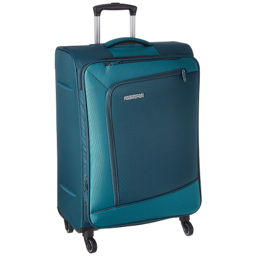 American Tourister Vermont Polyester 82-5 cms Emerald Softsided Check-in Luggage