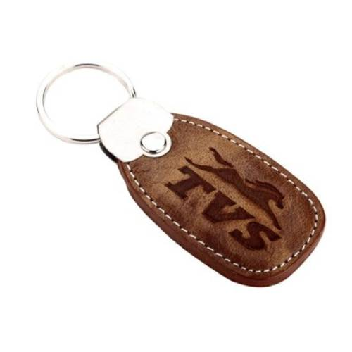 Leather Keychain 01