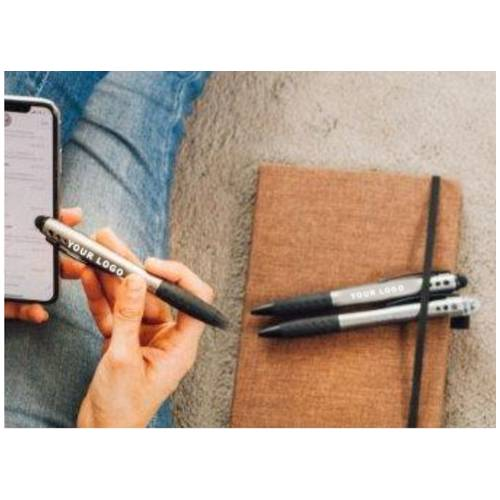 Spark Light up logo pen with stylus