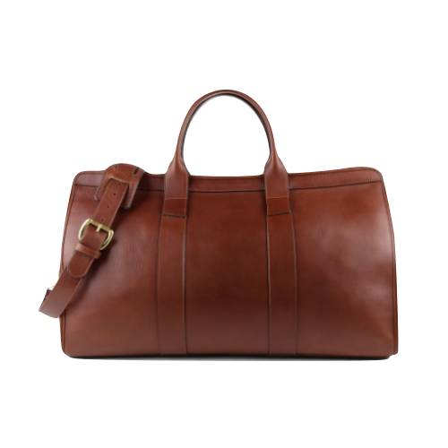 Travel In Style Leather Duffel Bag