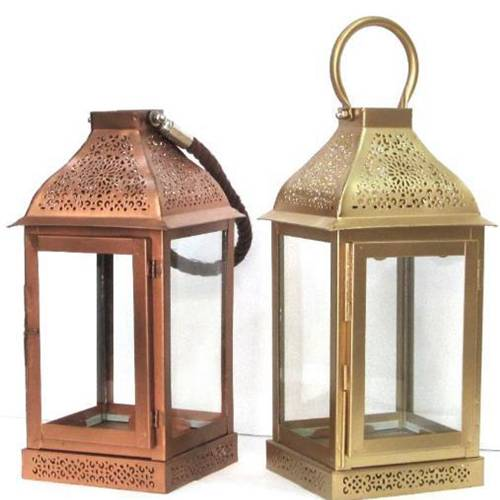 Lantern with Glass
