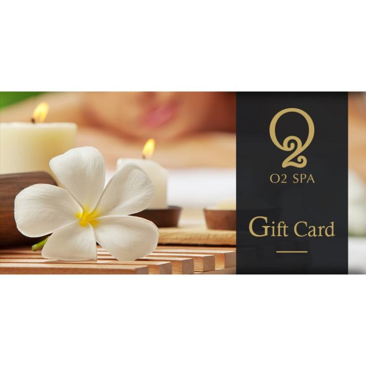 O2 Spa Gift Card Brandstik