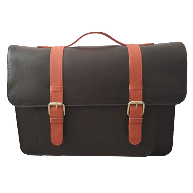 PU Satchel Laptop Messenger Bag