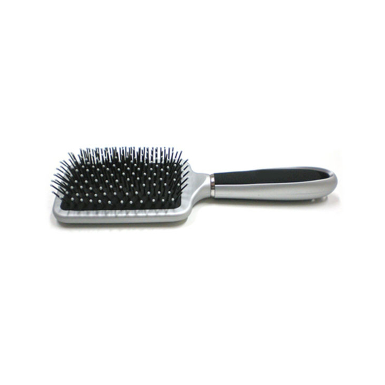 Paddle Brush Silver and Black Color handle