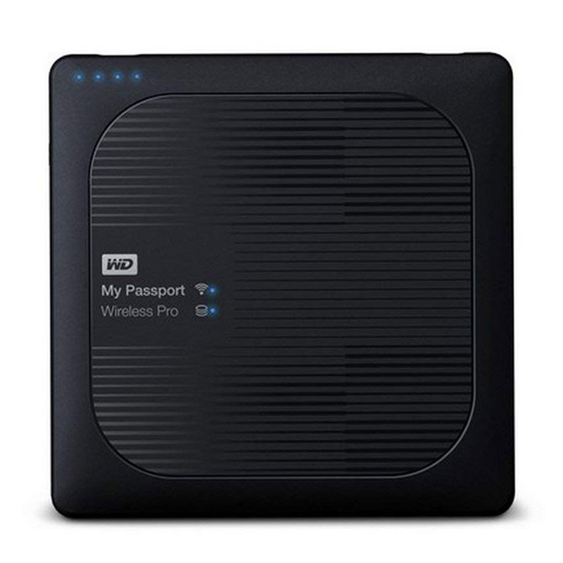 Passport Wireless Pro 4TB Portable External Hard Drive