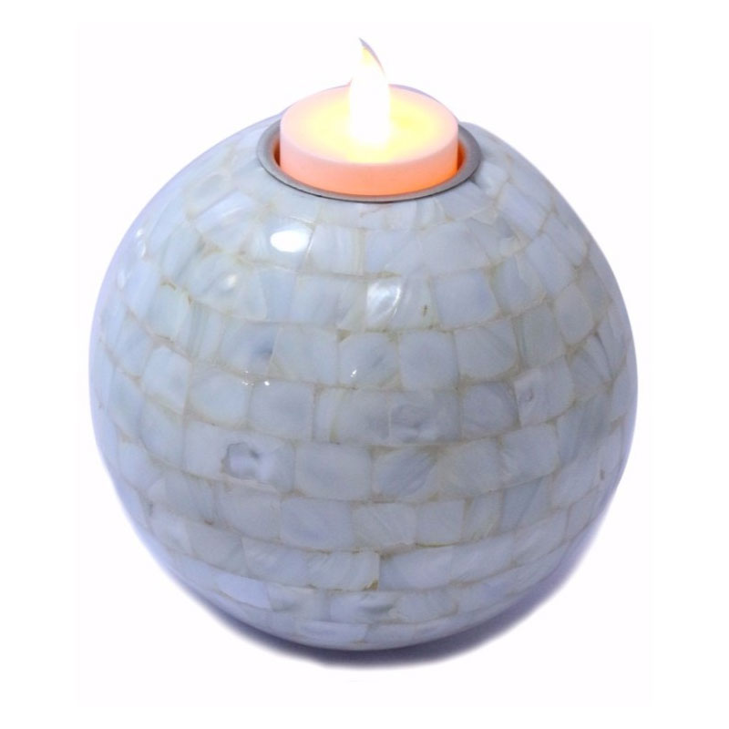 Pearl Round Shape Candle Holder