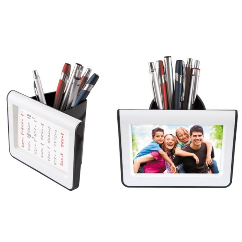 Pen Stand With Frame Calendar
