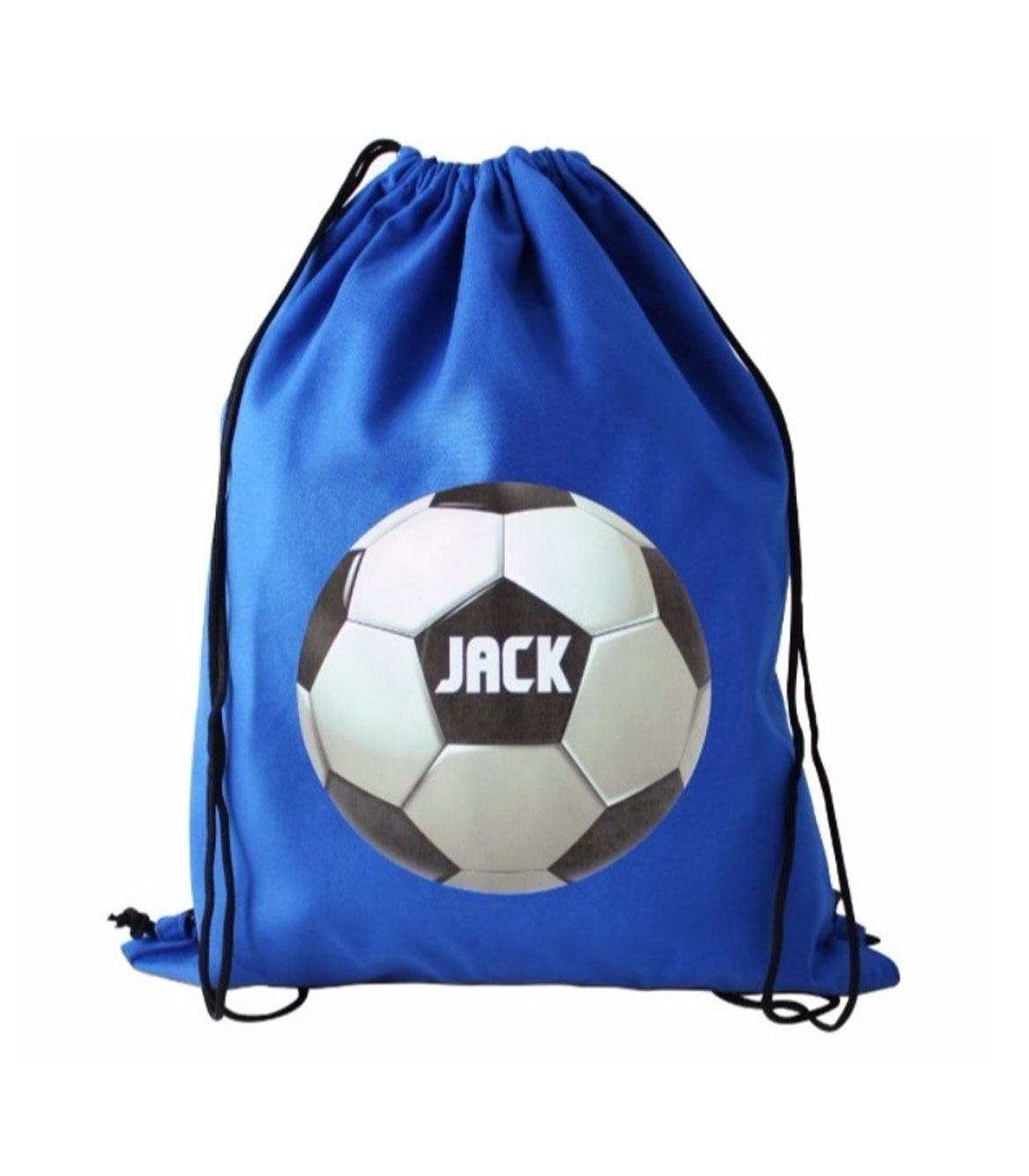 Personalised Football Drawstring Bag