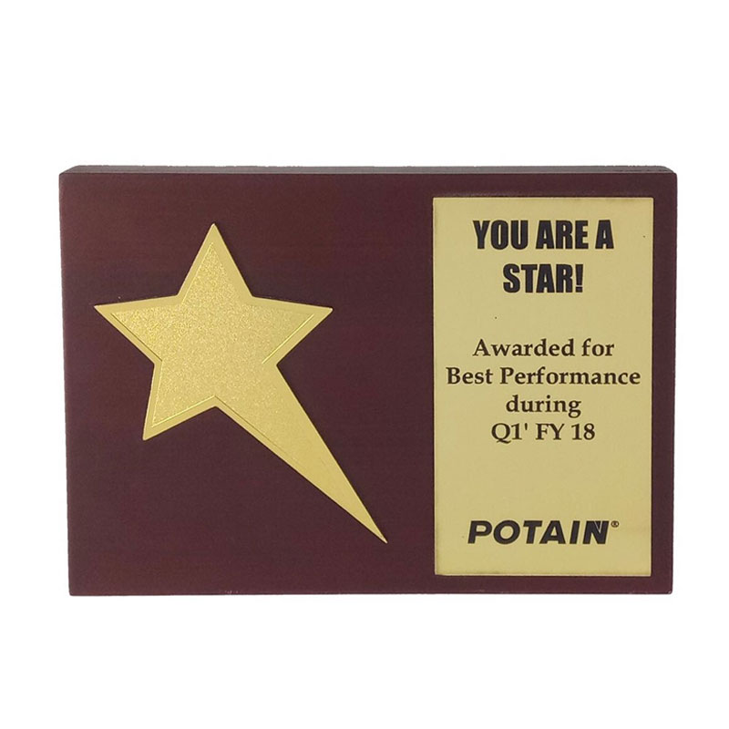Personalized Star Trophy