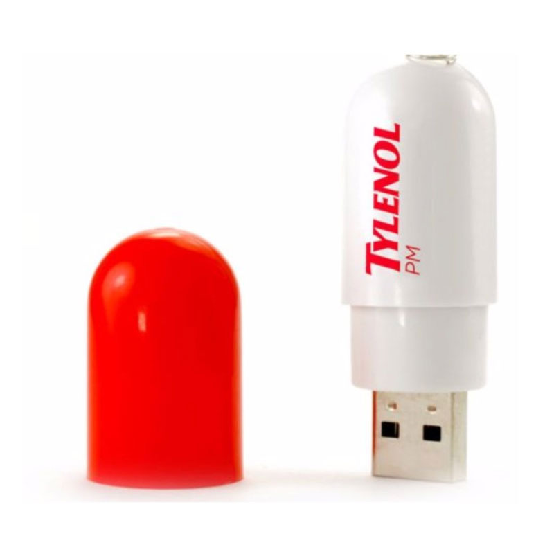 Pill Shape Pen Drive