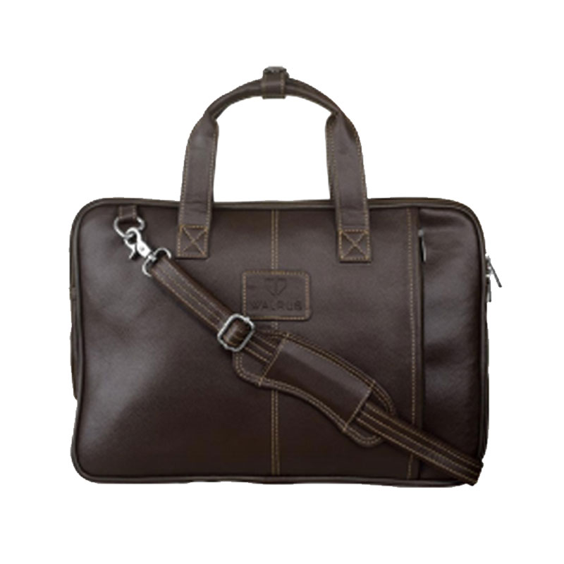Portfolio Laptop Bag - Brown
