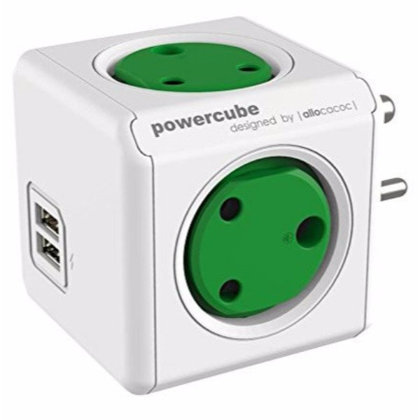 PowerCube USB (with Spike guard and twin USB)