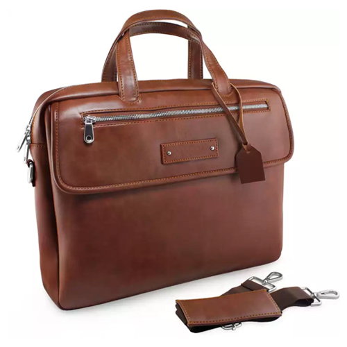 Premium Leather Multi-function Laptop bag