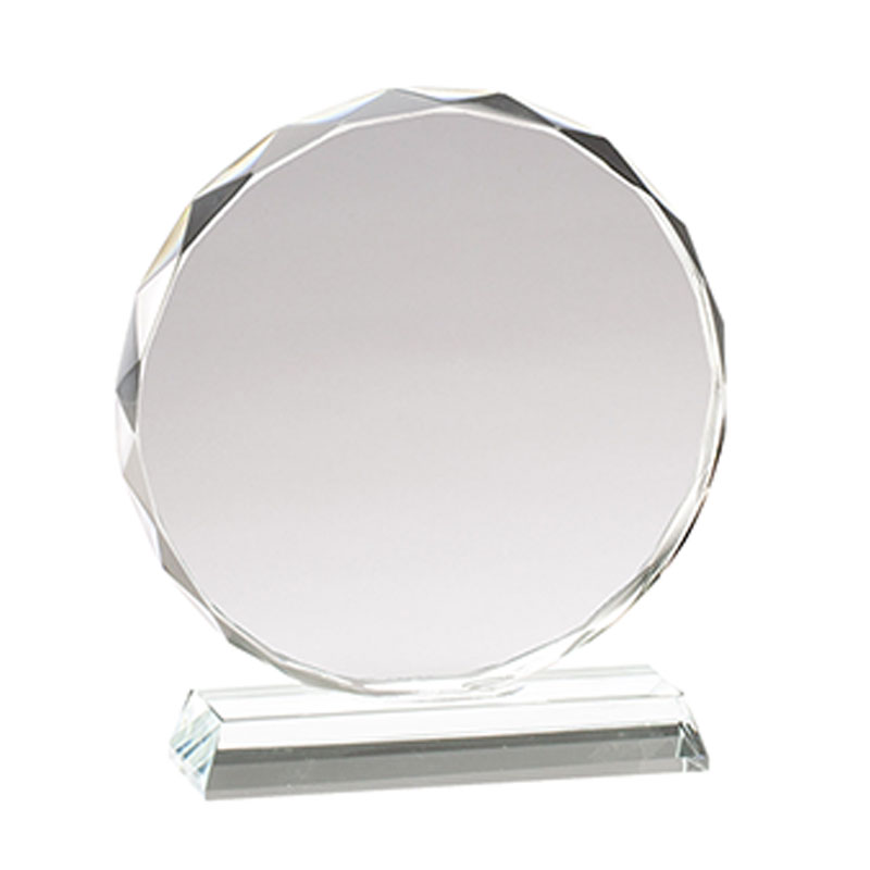 Promo Glass Circle Trophy