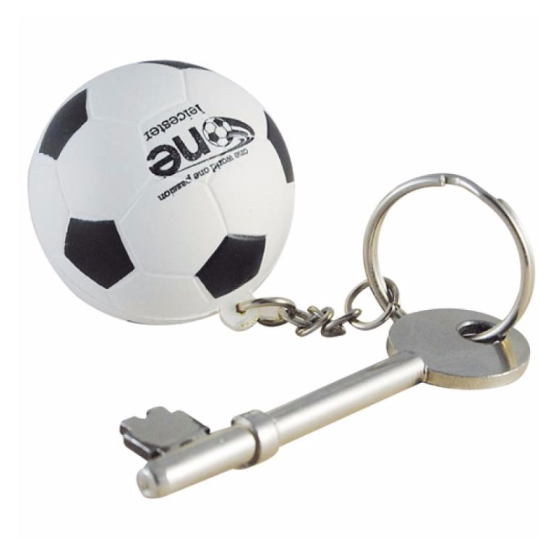 Promotional Stress Football Key ring