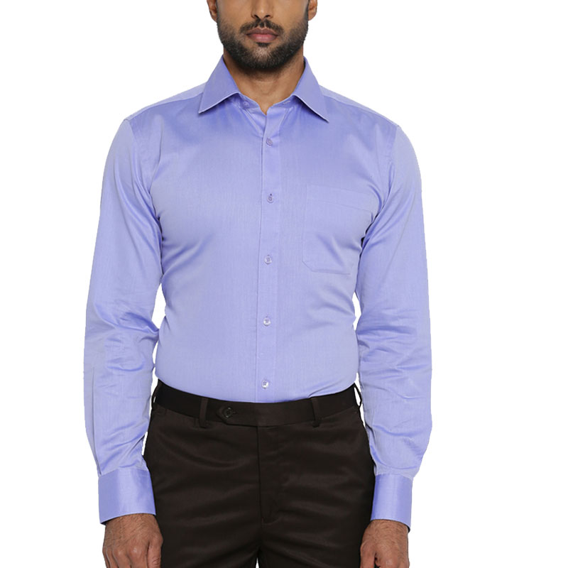 Raymond Men Blue Formal Shirt