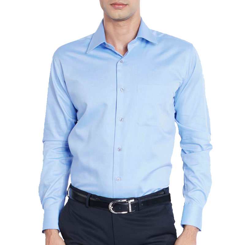 Raymond Light Blue Slim Fit Formal Shirt