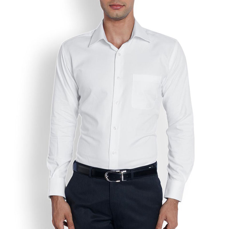Raymond Men White Formal Shirt