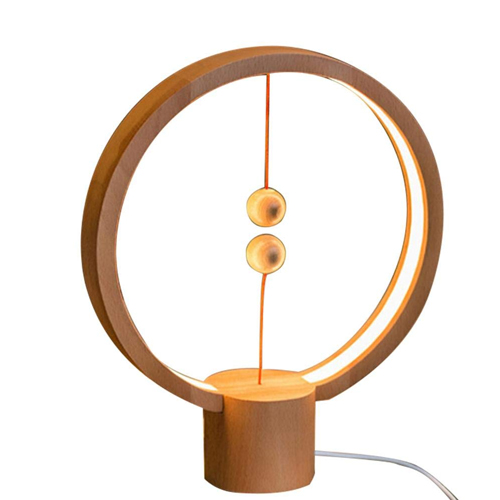 Round Magnetic Mid-air Switch USB Powered LED Lamp