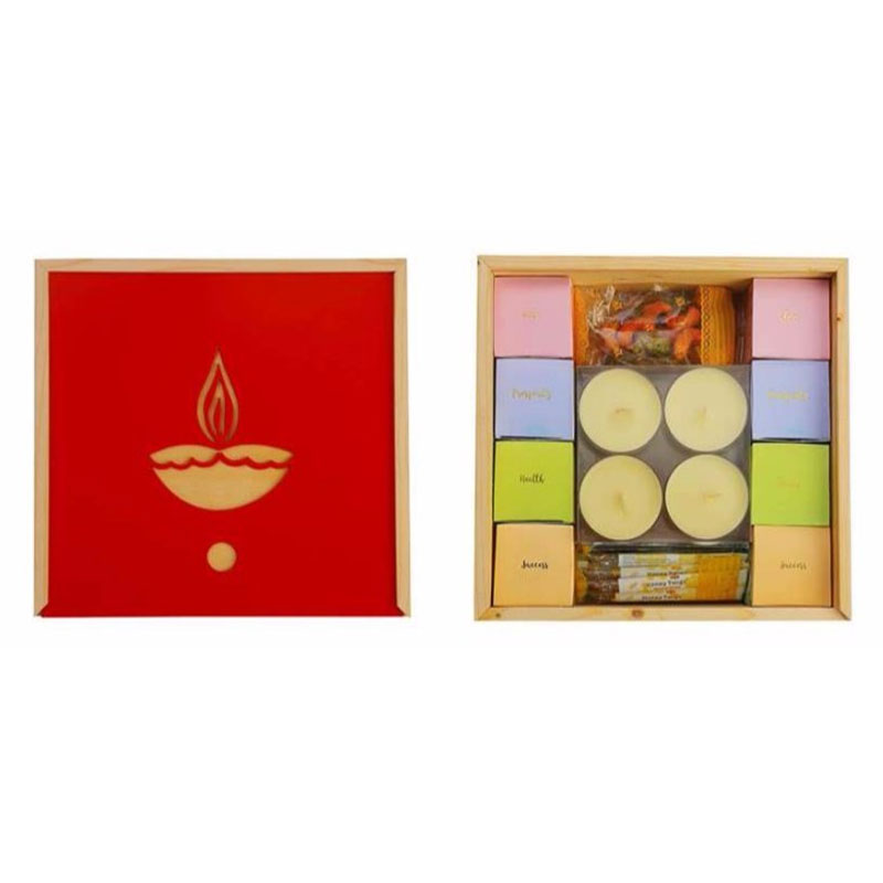 Seasons Greetings Tea Gift Box