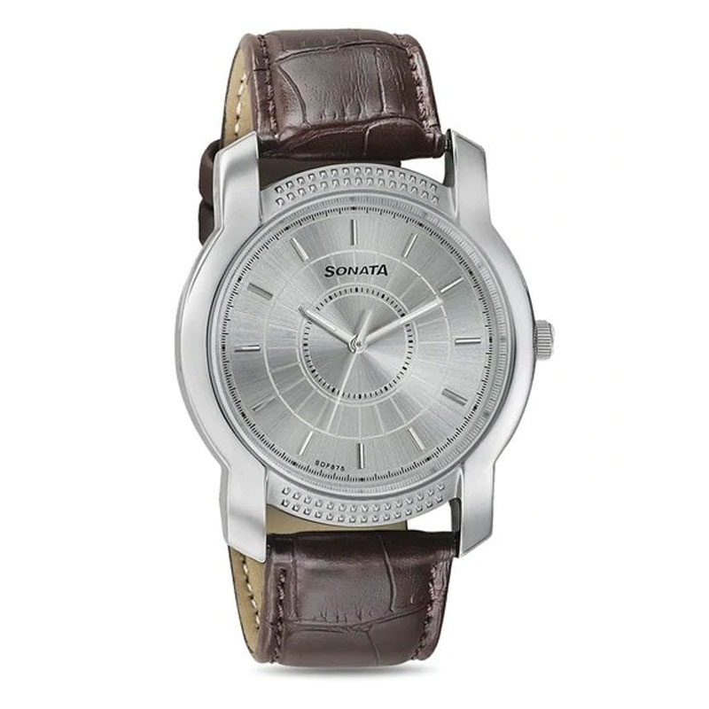 Sonata 7093SL04 Elite Analog Watch for Men