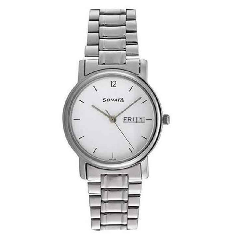 Sonata NC1013SM06 Classic Analog Watch