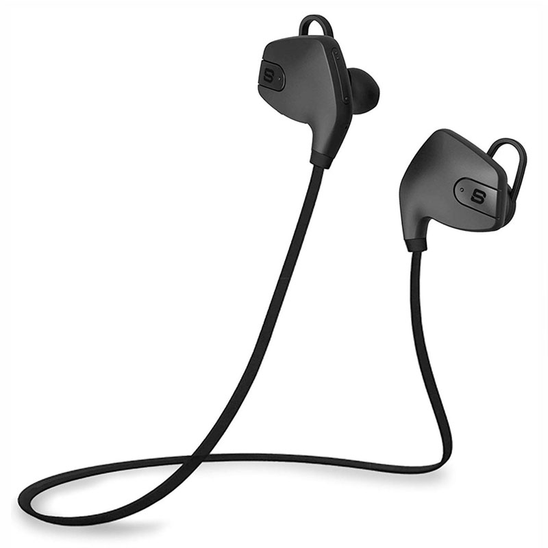 SoundBot SB565-BLK Stereo Bluetooth Wireless Headset