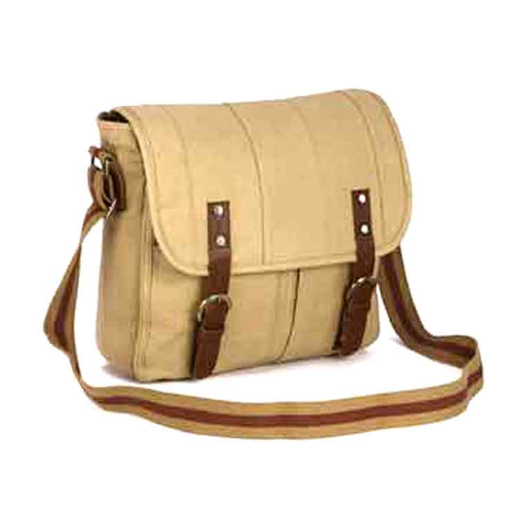 Special Designed Canvas Laptop Sling Bag