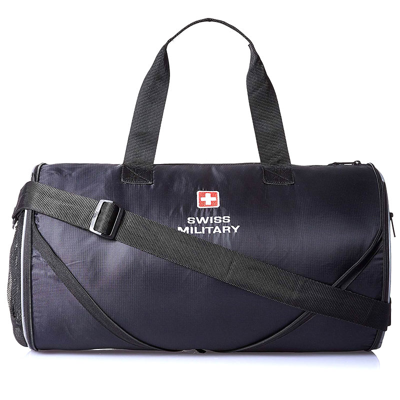 Swiss Military 47cm Sports Bag Black