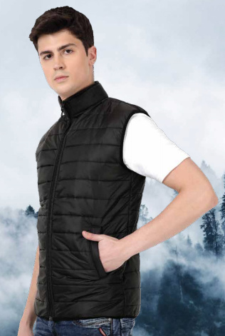 Thermo Wrap Sleeveless Jacket