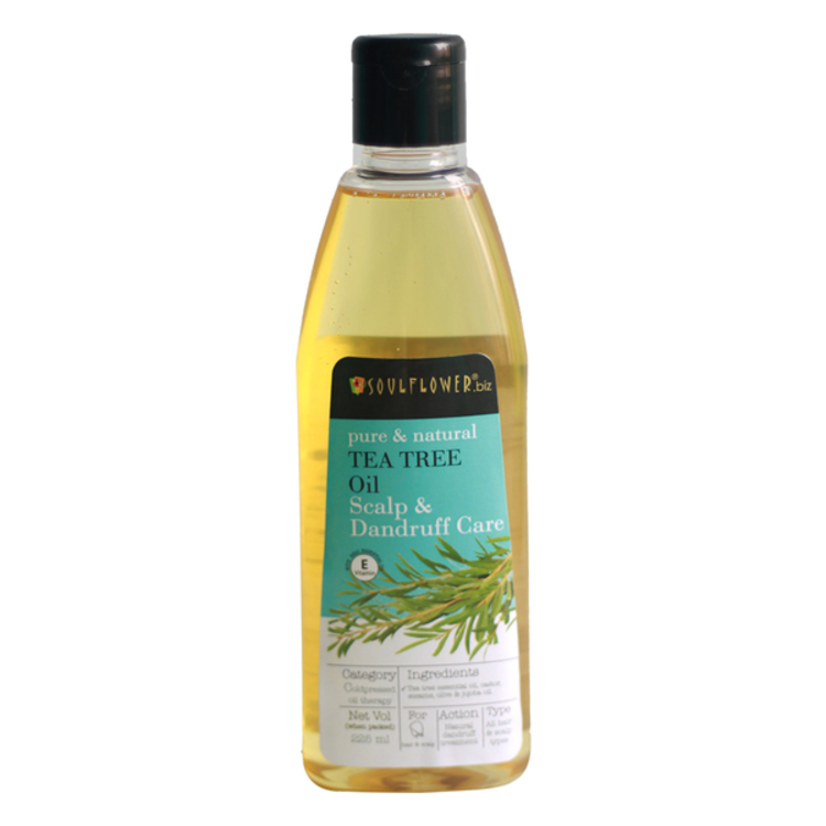Tea Tree Oil For Scalp & Dandruff Care