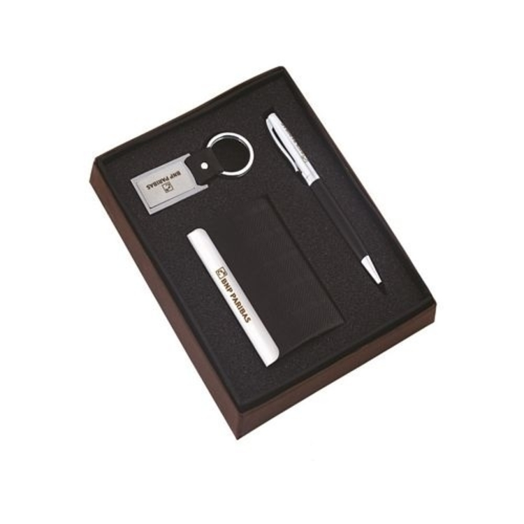 2990936f15acce Trio-gifter (card holder, Leatherite keychain and pen)
