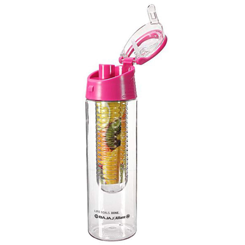 Tritan Fruit Infuser Sipper Bottle