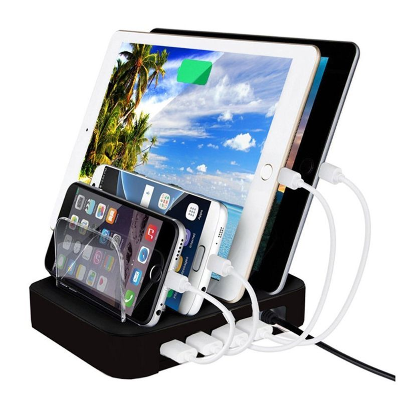 USB Charging Station Dock Stand
