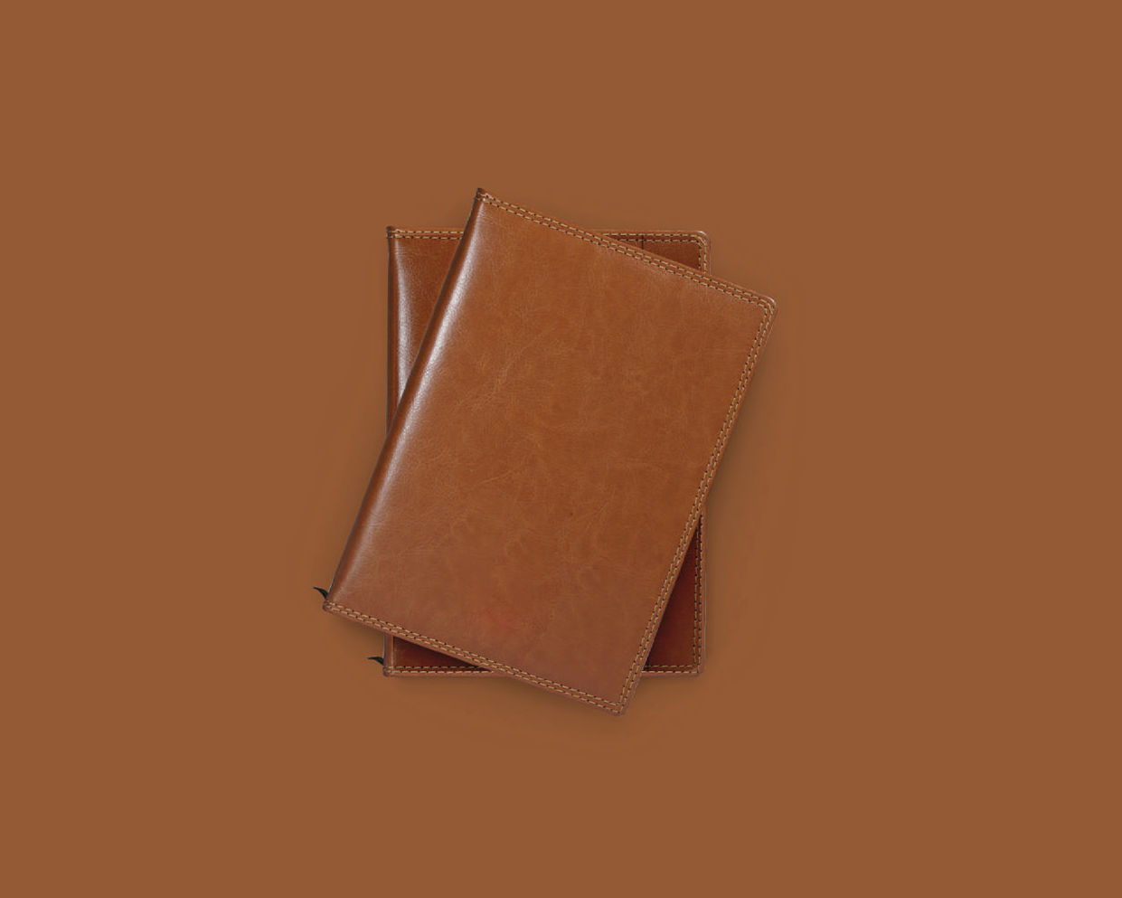 Vegan Leather Cover Diary- A5