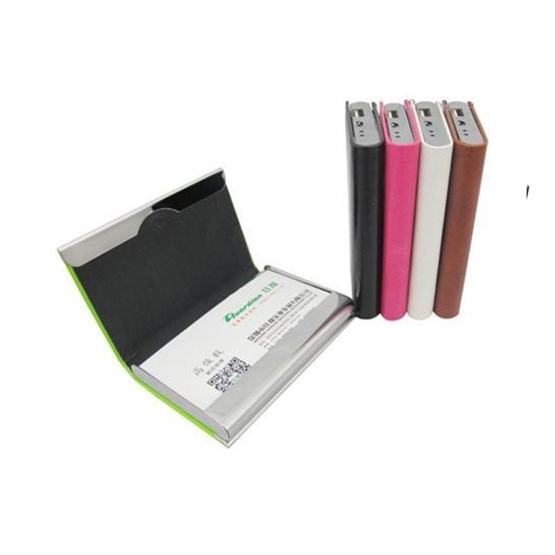 Visiting Card Wallet 2500 mAh Power Bank