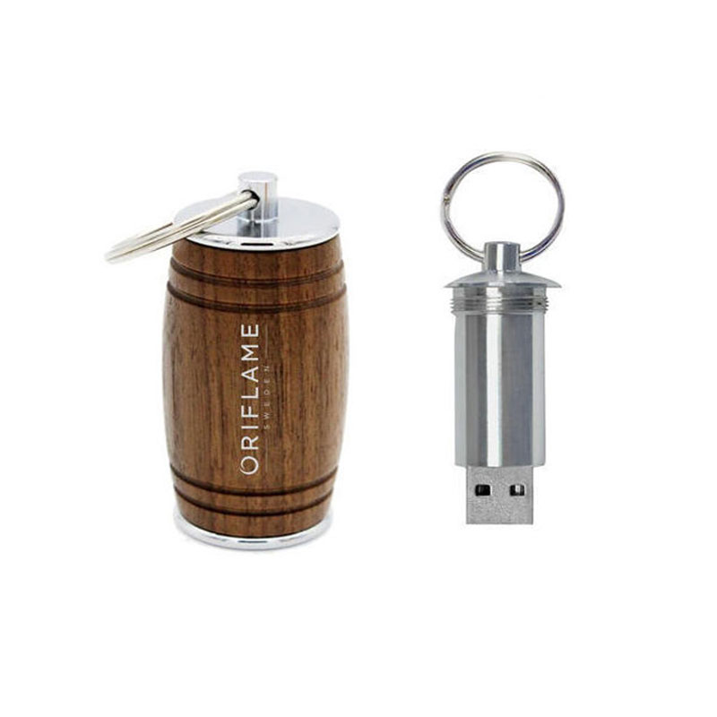 Wooden Barrel Pendrive