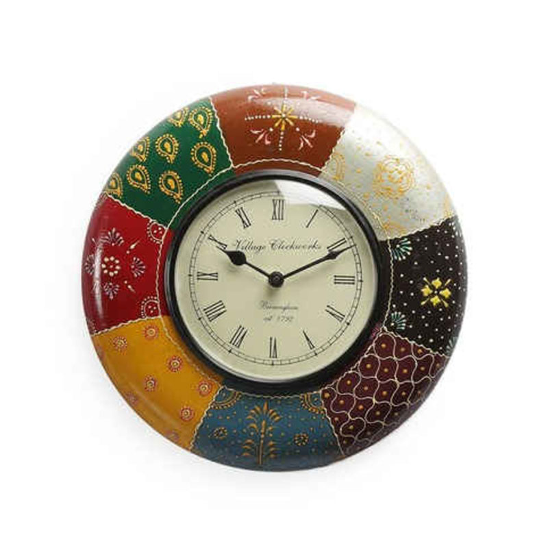 Wall Clock in Multicolour