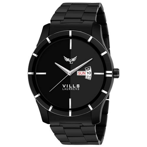 Amazing Black Day and Date Series Watch for Men and Boys