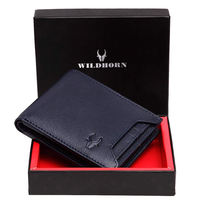 WildHorn RFID Protected Genuine Leather Wallet