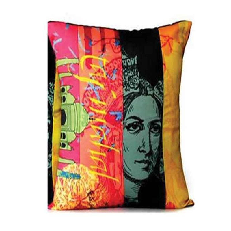 Women Print Cushion Cover