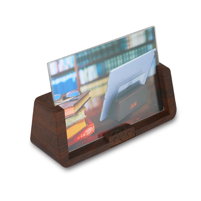 Wooden Photo Frame BT speaker & Mobile stand