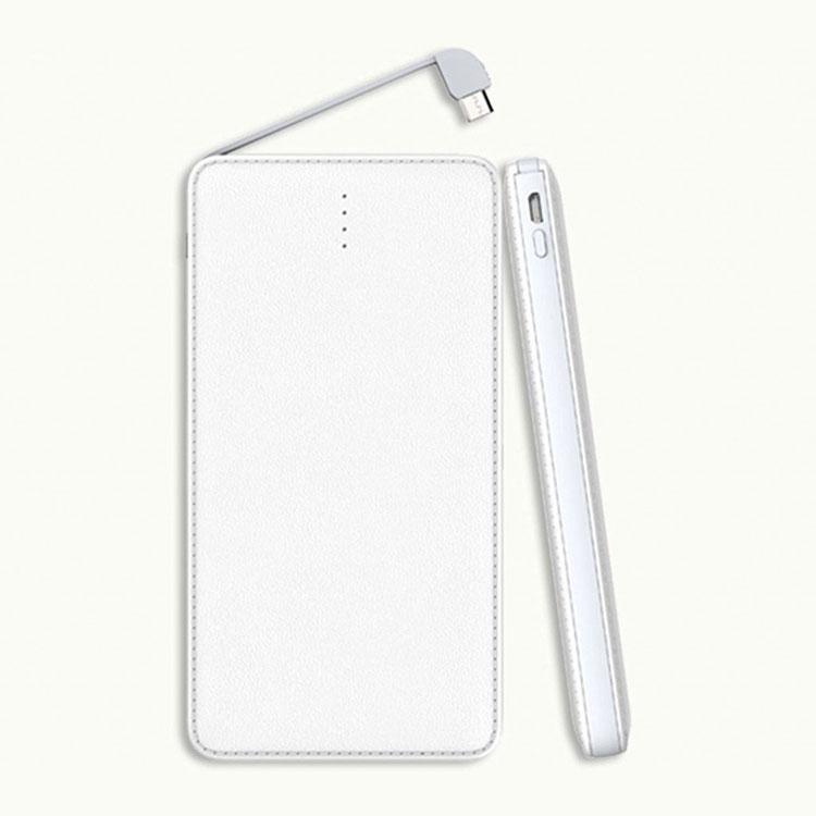 60af8f3c3d13 Ultra Thin Card Portable 10000mAh Power Bank