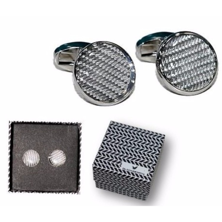Blackberry Round Cufflink