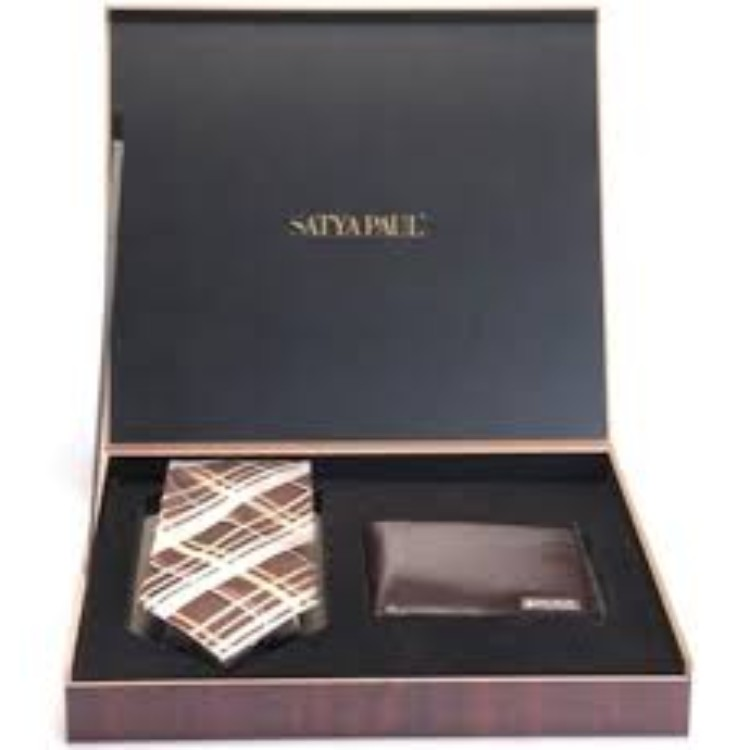 SATYA PAUL - Premium Tie & Wallet  Set