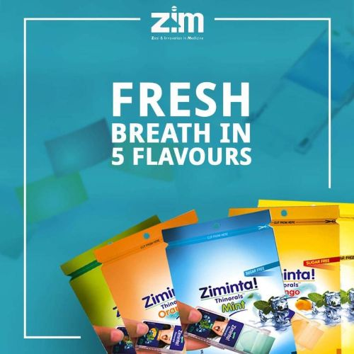 Ziminta Sugar Free Mint Mouth Freshener